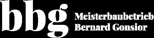 bbg Meisterbaubetrieb Bernard Gonsior